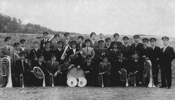 Der Musikverein Perl 1954